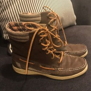 Women's Sperry Top-sidder hickerfish boots size 9
